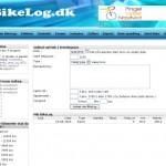 Bikelog.dk - træningsdagbog til cykling og MTB