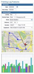 Running Ahead online log