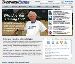 trainingspeaks 3.0 hjemmeside